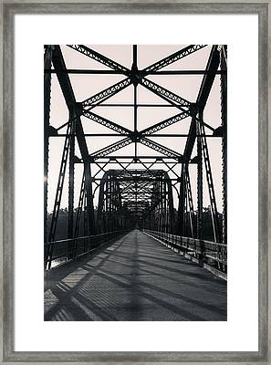 Belford Bridge  Framed Print