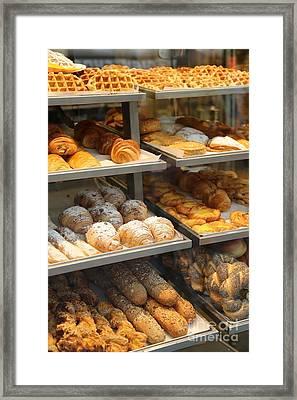 Belgian Bakery Framed Print