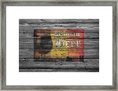 Belgian Beer Framed Print