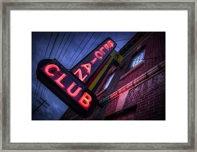 Belgian Club Framed Print