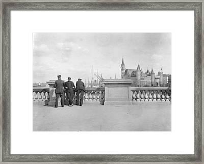 Belgium, C1910 Framed Print