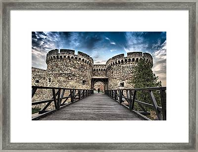 Framed Print featuring the photograph Belgrade Castle by Okan YILMAZ