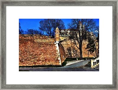 Belgrade Fortress Framed Print by Milan Karadzic