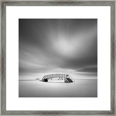 Belhaven Bridge Framed Print by Dave Bowman