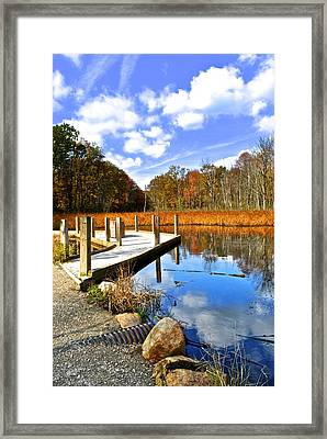 Believe It Or Not Its Cleveland Framed Print by Frozen in Time Fine Art Photography