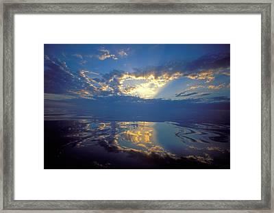 Belize Dawn Framed Print