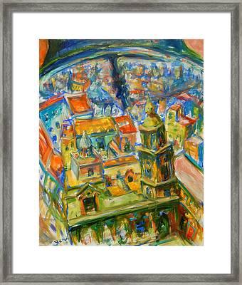 Bell City Framed Print by Yen