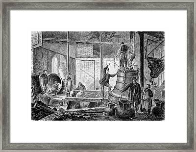 Bell Foundry Framed Print