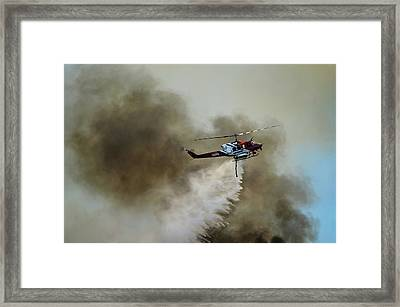 Bell Helicopter 212 Framed Print by James David Phenicie