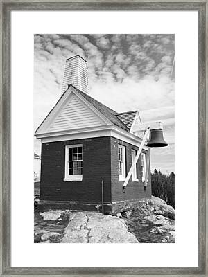 Bell House Framed Print by Becca Brann