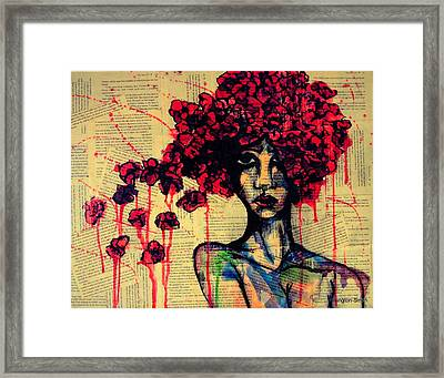 Bell Jar Framed Print by Stacey Pilkington-Smith