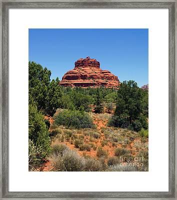 Bell Rock 2 Framed Print by Trish H
