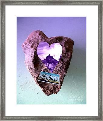 Bell Rock 6413 Serendipity Framed Print