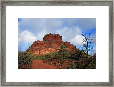 Framed Print featuring the photograph Bell Rock by Donna Kennedy