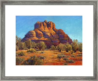 Bell Rock, Sedona Arizona Framed Print