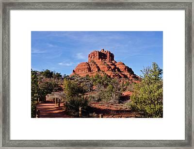 Bell Rock South Of Sedona Az Framed Print