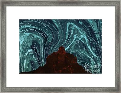 Bell Rock Vortex Framed Print by David Gordon