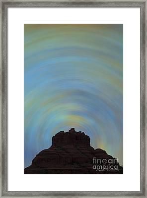 Bell Rock Vortex No. 2 Framed Print by David Gordon