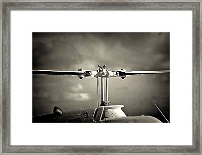 Bell Rotor Framed Print by Patrick M Lynch