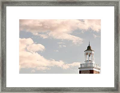 Bell Tower Framed Print