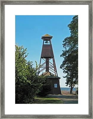 Bell Tower In Port Townsend  Framed Print