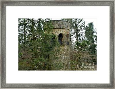 Framed Print featuring the digital art Bell Tower by Jeannie Rhode
