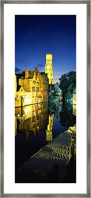 Bell Tower Of A Church, Belfry Framed Print by Panoramic Images