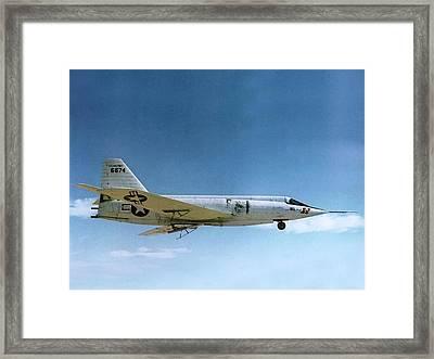 Bell X-2 Starbuster Supersonic Test Plane Framed Print