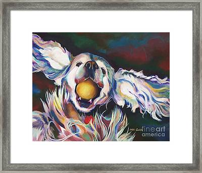 Bella Framed Print by Adele Castillo
