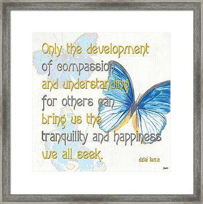 Bella Butterflies 1 Framed Print by Debbie DeWitt