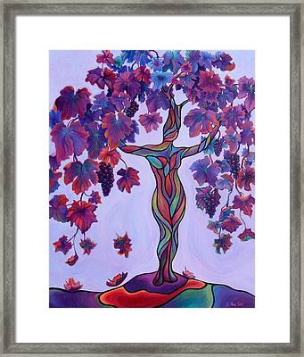 Bella Di Vino Framed Print by Sandi Whetzel