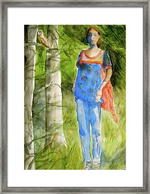 Bella Emerges Framed Print