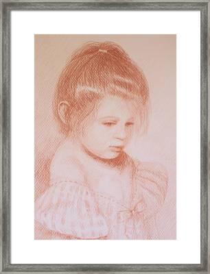 Bella Principessa Framed Print by Deborah Dendler