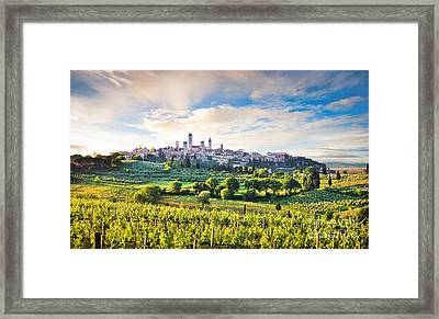 Bella Toscana Framed Print by JR Photography