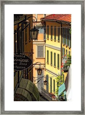 Bellagio Street Charm IIi Framed Print