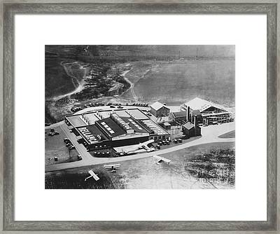 Bellanca Airfield, 1929 Framed Print by Hagley Archive
