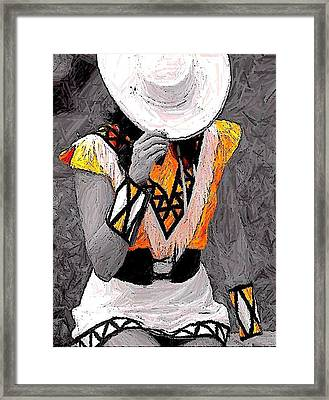 Belle Art 26 Framed Print
