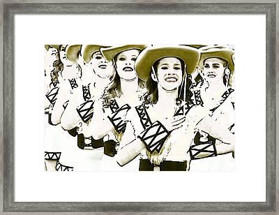 Belle Art 69 Framed Print by Carrie OBrien Sibley