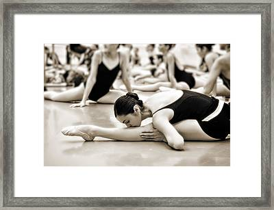 Framed Print featuring the photograph Belle Ballerina by Bill Howard