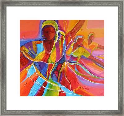 Belle Dancers Framed Print