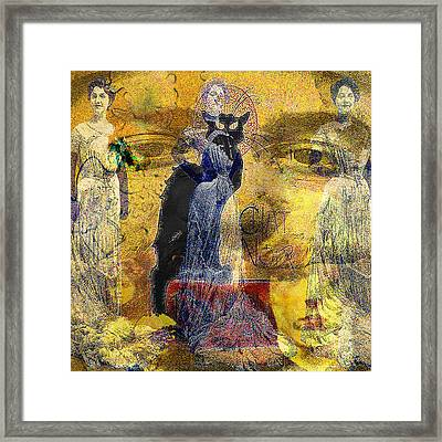 Belle Epoque  Framed Print by GANECH Graphics
