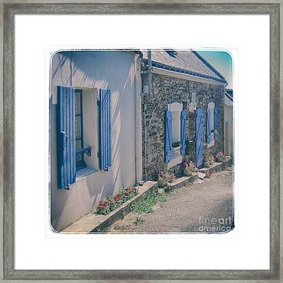 Belle-ille Street Framed Print