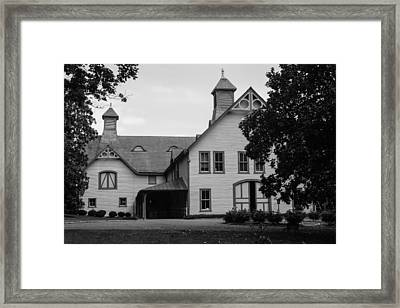 Belle Meade Mansion Carriage House Framed Print by Robert Hebert