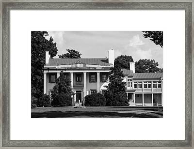 Framed Print featuring the photograph Belle Meade Mansion by Robert Hebert