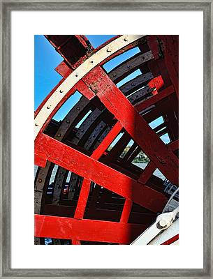 Belle Of Louisville Paddlewheel Framed Print