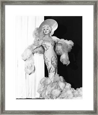 Belle Of The Nineties, Mae West Framed Print