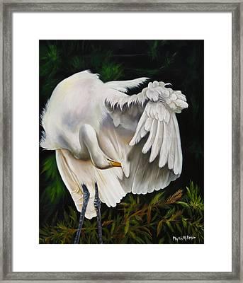 Belle Oiseau Framed Print