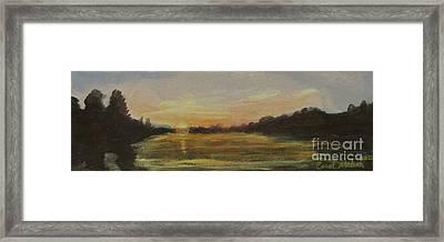 Belle River I Framed Print