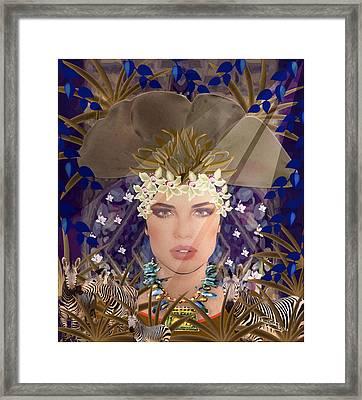 Belleza Terrosa  Framed Print