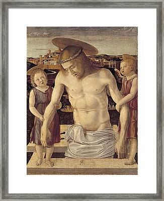 Bellini, Giovanni 1430-1516. Dead Framed Print by Everett